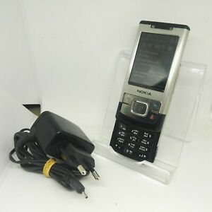 Nokia 6500 Slide - Silver (Unlocked) Slide Basic Button Camera 3G Mobile Phone
