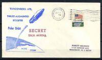 Stati Uniti 1969 Mi. 638 Busta 100% Segreto Thor Agena