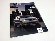 2009 Suzuki SX4 Sedan Brochure