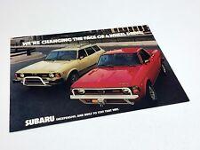 1979 Subaru Wagon Brat 4WD Brochure