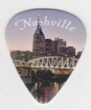 NASHVILLE Tennessee CITY SKYLINE GUITAR PICK  MUSIC CITY Country Music Opry USA