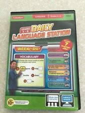 Lakeshore Learning Interactive Whiteboard PC Software CD DAILY LANGUAGE STATION