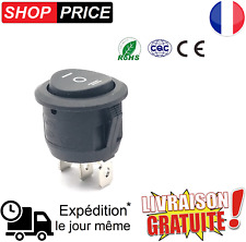 Interrupteur à bascule 3 broche - 3 positions ON/OFF/ON - 6A 250V / 10A 125V