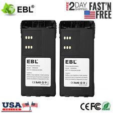 2x 2500mAh Hnn9008 Battery for Motorola Pro5150 Ht750 1250 Gp328 Ht1550 Hnn9009