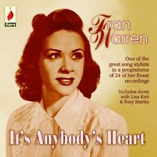 Fran Warren - It's Anybody Heart [New CD]