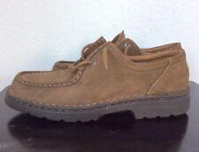 Vintage BASS Brown Nubuck Leather CHUKKA Desert Boots 12 M