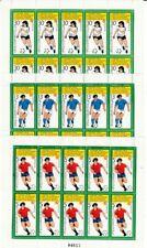 Le Football Bulgarie 3127 - 29 Feuilles Miniature Lot WM 82 Espagne (MNH)