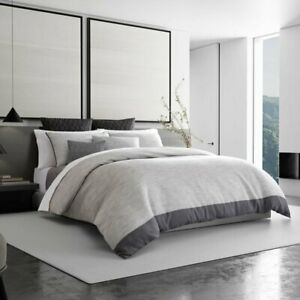 Vera Wang Grisaille Weave Single Duvet Cover, King