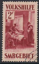 SAAR:1931 Christmas Charity 2F lake SG 154 fine used