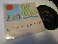 "O'Jays -Love Train / I Love Music (reissue) 7"" VINYL Single recs PORTRAIT A7235"