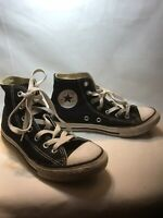 Converse Youth Black Chuck Taylor High Top Shoes, Youth Boys Size 2