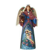 "Jim Shore 20"" Angel Lighted Angel with Holy Scene*Brand New In Box*6003362*"
