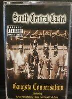 South Central Cartel – Gangsta Conversation Cassette Tape rare rap hip hop SCC