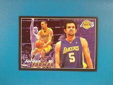 2009-10 Panini NBA Basketball n.290 Jordan Farmar Los Angeles Lakers