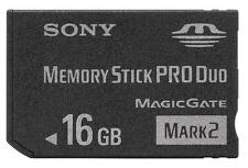 New Memory Stick MS-MT16GB MS PRO-HG Duo HX Mark2 16GB Card For SONY PSP Camera