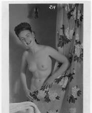 Akt Vintage Foto - leicht bekleidete Frau aus den 1950er/60er Jahren(107) /S200