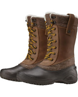 The North Face Women's Shellista III Mid Boots BROWN SZ 9
