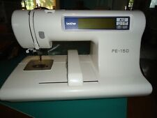 Brother PE-150v Computerized Embroidery machine with Manual And Accessories