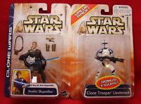 Star Wars Clone Wars Anakin Skywalker Clone Trooper Lieutenant