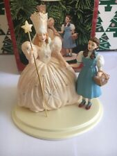 Wizard Of Oz Christmas Hallmark Keepsake Ornament Dorothy Glinda Good Witch NIB