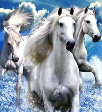 Horses Dream Beach Blanket