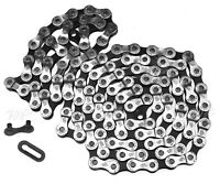 """8-Speed 114 Links Road Bike Bicycle Chain Stain Steel 1/2"""" x 3/3"""