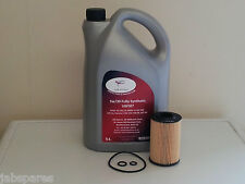 Seat Diesel 5w30 Fully Synthetic 5ltr Engine Oil & Oil Filter Kit