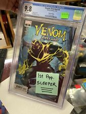 Venom First Host #3 2nd Print CGC 9.8 1st Appearance Sleeper Cover RARE