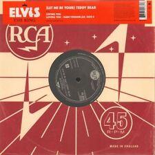 """Elvis Presley 45RPM Speed Rock 12"""" Singles"""