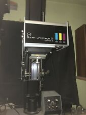Omega Super Chromega D Dichroic II Color Head 4x5Photo Enlarger Chromega D5xl