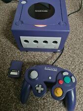 NINTENDO Gamecube -working- DOL-001- 1 controller - original cables -memory card