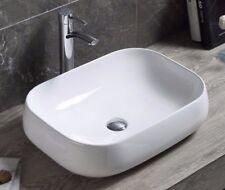 Modern Bathroom Counter top Porcelain Ceramic Vessel Vanity Sink Art Basin