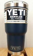 NEW YETI 30 oz Rambler Tumbler Magslider Lid NAVY BLUE FREE SHIP