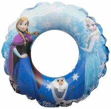Frozen Swim Ring in Bag Inflatable Swimming Aid Summer Holiday Kids Girls Fun