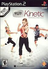 EyeToy: Kinetic Playstation 2 Personal Fitness Trainer Complete Works Great!
