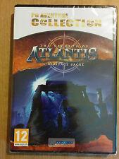 The Secrets of Atlantis : L'Héritage Sacré Jeu PC ** NEUF **