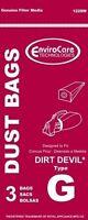 Dirt Devil G Type Vacuum bags (3pk) by EnviroCare