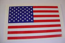 4 AMERICAN  FLAG STICKERS  70x40mm MOTORBIKE HELMET RACING MOTORSPORT  USA
