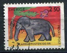 TIMBRE SUEDE SVERIGE ELEPHANT