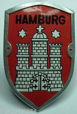 Hamburg badge new mount shield badge stocknagel hiking medallion G9986