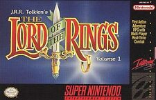 The Lord of the Rings, Vol. 1 (Super Nintendo Entertainment System) snes