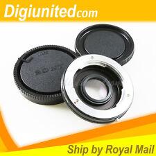 Minolta MC MD mount lens to Sony Minolta Alpha mount adapter A65 A390 A550 A900