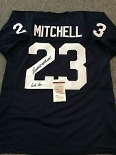 PENN STATE LYDELL MITCHELL AUTOGRAPHED SIGNED INSCRIBED JERSEY JSA COA