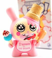 "Kidrobot Dunny 3"" 2010 Esther Kim Ice Cream Popsicle Art Toy Designer Vinyl Pop"