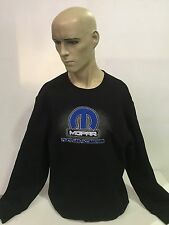 MOPAR fleecy jumper black size XXL dodge plymouth chrsyler hot rod gasser