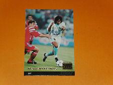 REYNALD PEDROS VELODROME OLYMPIQUE MARSEILLE OM FOOTBALL CARD PANINI 1996-1997