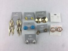 Costume Fashion Earring Lot 8 Dangle Stud Drop Post Bead Jewelry