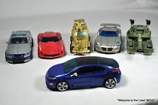 TRANSFORMER, HASBRO, SET OF 6 DELUXE VEHICLES