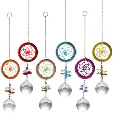 Rainbow Dream Suncatcher Hanging Crystal Prism Ball Pendant Window Home Decor