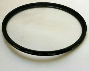 Vivitar UV Wide angle 72mm Filter Series 1 thin Low Profile -  Free Shipping USA
